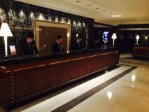 Reception at Mandarin Oriental Hong Kong