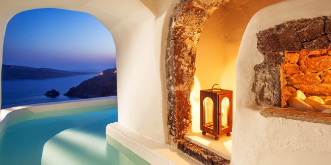 River Pool Suite at Canaves Oia