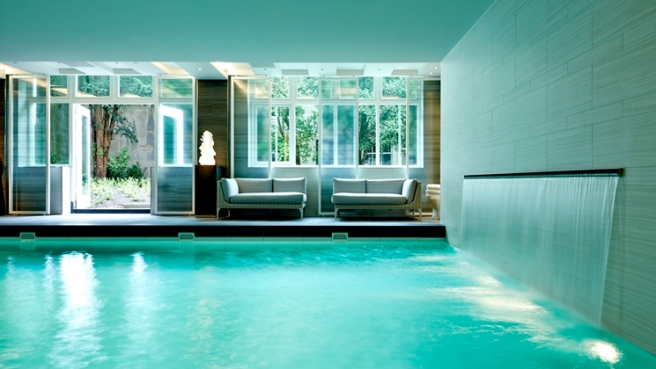Indoor Pool: Retreat to the restful oasis of the hotel's luxury spa, and refresh with a dip in the indoor swimming pool.